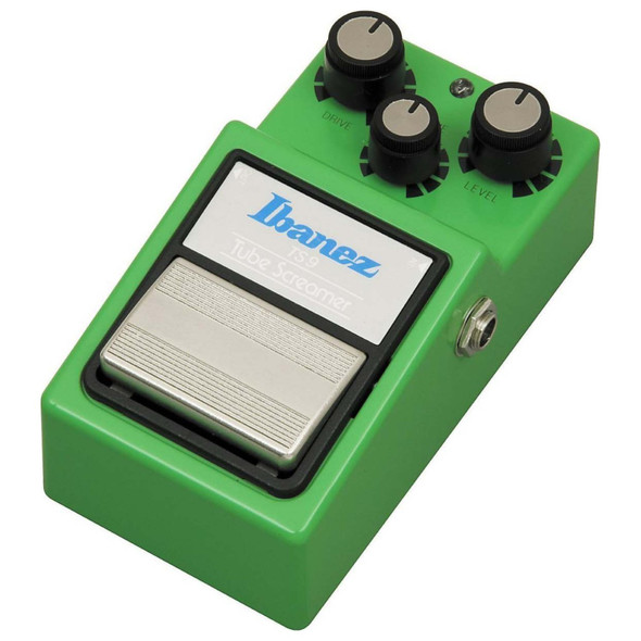 Ibanez TS-9 Tube Screamer Overdrive Pedal w/ Patch Cables