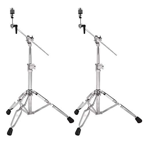 DW 9000 Low Boom Cymbal Stand (2 Pack Bundle)