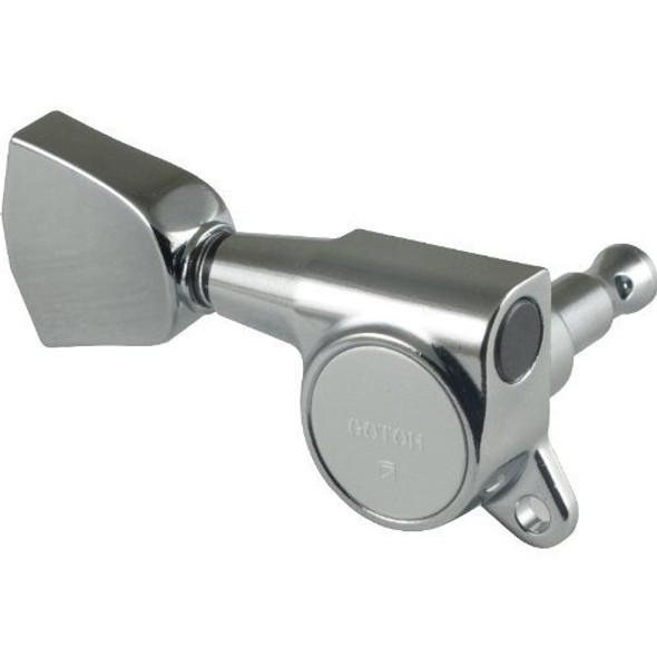 Gotoh Modern Keystone-Style Chrome Tuners (3 per side)