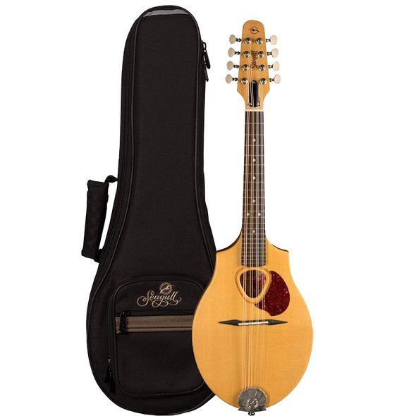 Seagull S8 Mandolin Natural with Seagull S-Line Fully Padded Gig Bag