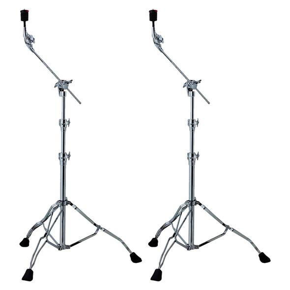 Tama HC83BW Roadpro Straight/Boom Cymbal Stand 2 Pack Bundle