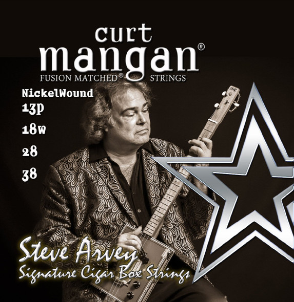 Curt Mangan Fusion Matched Cigar Box Strings - 38/28/18/13
