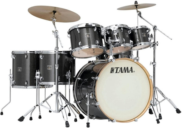 Tama Superstar Classic 7-Piece Shell Pack - Midnight Gold Sparkle