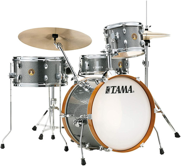 Tama Club Jam 10/14/18/5x13 4pc. Drum Kit Galaxy Silver