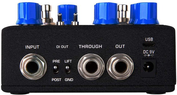 NUX Melvin Lee Davis NBP-5 Dual Switch Bass Pedal Bass Preamp,DI box,Impulse Response (IR) Loader,Audio Interface in one