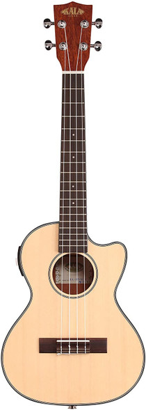 Kala KA-STGE-C Tenor Ukulele Acoustic Electric - Natural