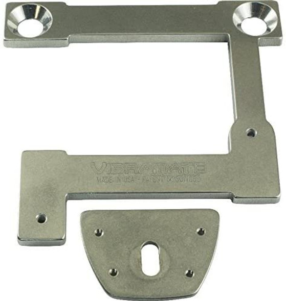 Adapter Kit - Vibramate, V7-335-G for Gibson arch top, Color: Silver