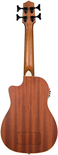 Kala UBASS Journeyman FS Mahogany Acoustic-Electric Satin UBass w/Bag, UBASS-JYMN-FS