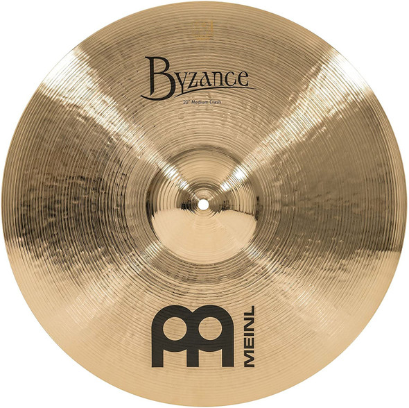 Meinl Cymbals B20MC-B Byzance 20-Inch Brilliant Medium Crash Cymbal