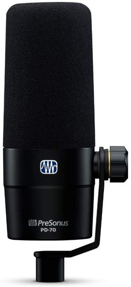 PreSonus, 1 Vocal Dynamic Microphone, XLR, Black (PD-70)