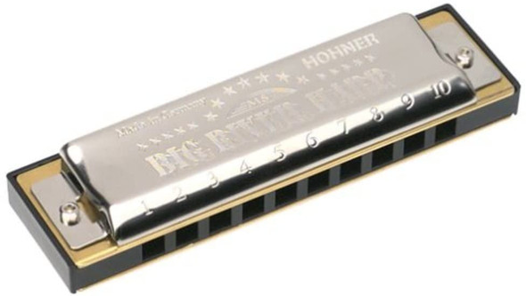 Hohner Big River Harmonica, Key of D