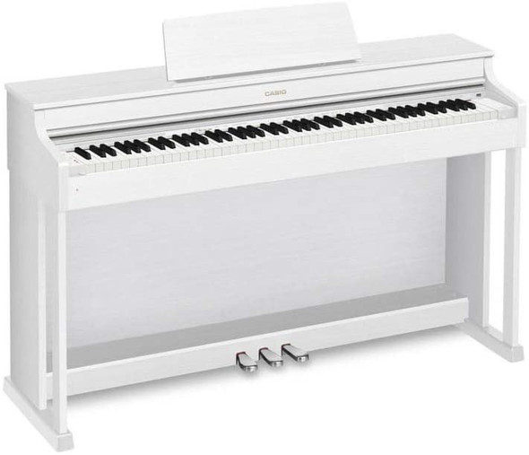 Casio AP-470 Celviano Digital Upright Piano with Bench - White