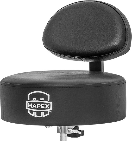 Mapex Four Legged Double Brace Throne With Adjustable Back Rest,