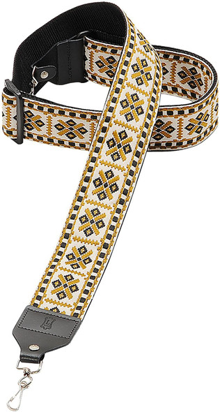 "Levy's Leathers 2"" Hootenanny Jacquard Weave Banjo Strap with Tri-Glide Height Adjustment (M10HT-07)"