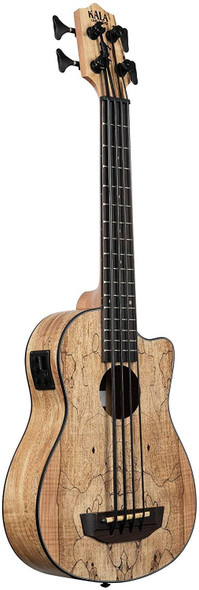 Kala Spalted Maple Acoustic-Electric U•BASS