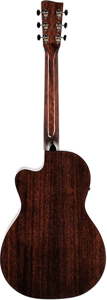Recording King 6 String Acoustic-Electric Guitar, Right, Gloss Natural (RP-G6-CFE5)