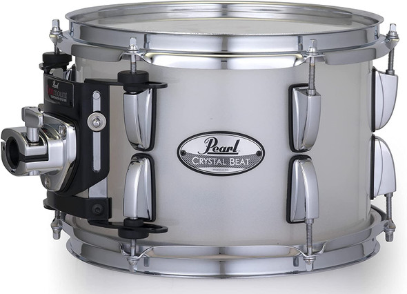 """Pearl Crystal Beat 12""""x8"""" Tom - Frosted"""