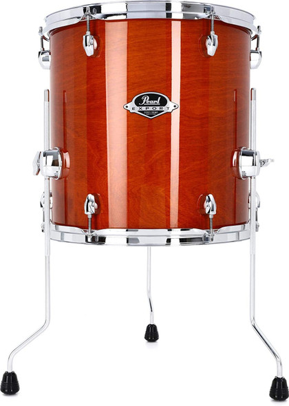 Pearl Export EXL Floor Tom - 14 Inches X 14 Inches Honey Amber