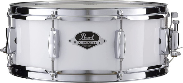 """Pearl Export 14""""x5.5"""" Snare Drum - Pure White"""