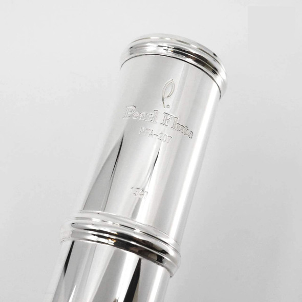 Pearl Alto Silver Flute w/Case and Cover w/Curved and Straight Head Joint (PFA207SU)