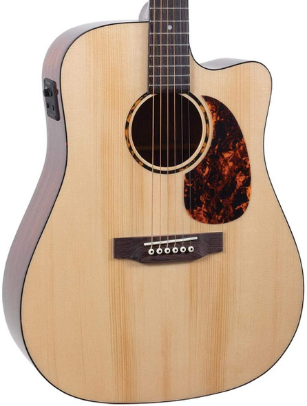 Recording King RD-G6-CFE5 G6 Series Solid Top Dreadnought Guitar with Cutaway & Fishman EQ