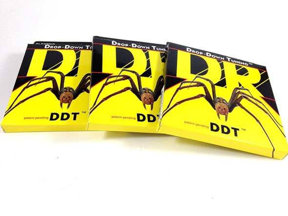 DR Guitar Strings 3 Pack Electric DDT Drop Down Tuning 12-60 Extra Extra Heavy
