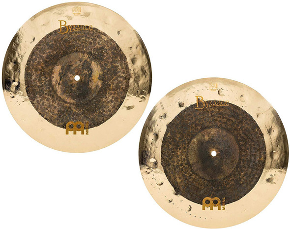 Meinl Cymbals B15DUH Byzance Extra Dry 15-Inch Dual Hi-Hat Cymbal Pair (VIDEO)