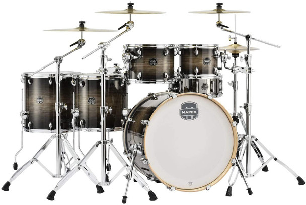 Mapex Armory Series 6-Piece Studioease Shell Pack - Black Dawn