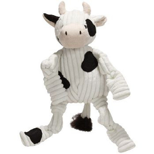 HugH Plush Barnyard Knottie Cow