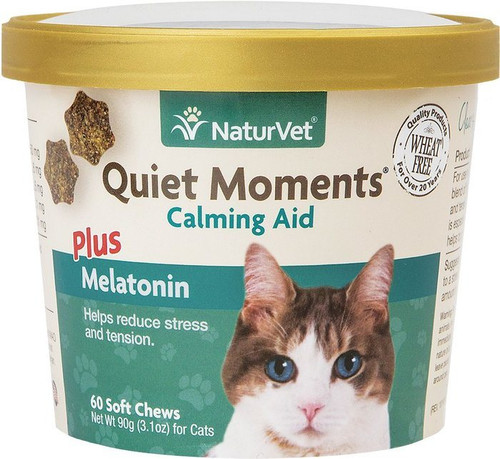 NaturVet Cat Quiet Moments 60ct