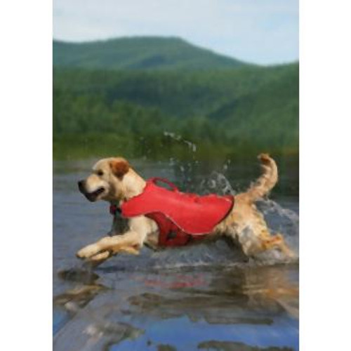 Kurgo Surf n Turf Lifejacket Red