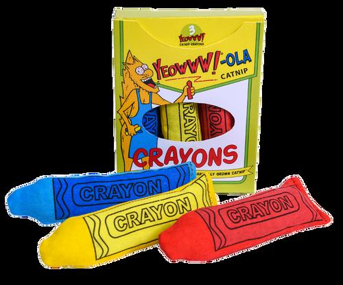 Yeowww Catnip Crayon 3pk