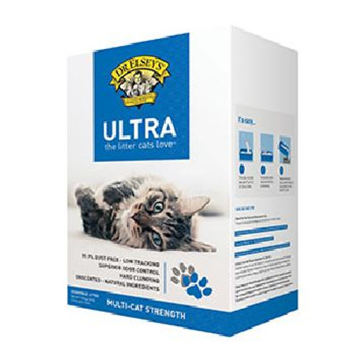 Dr Elsey Ultra Multi Cat Unscented Litter 20lb Box