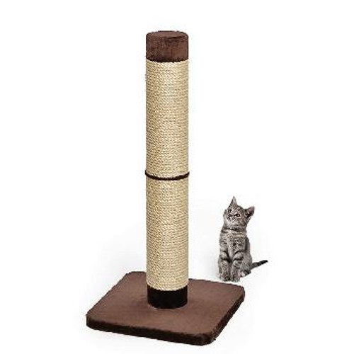 Nuvo Forte Scratch Post Brown 20in
