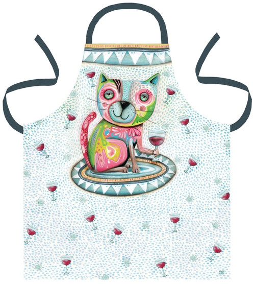 Apron Cat Wine