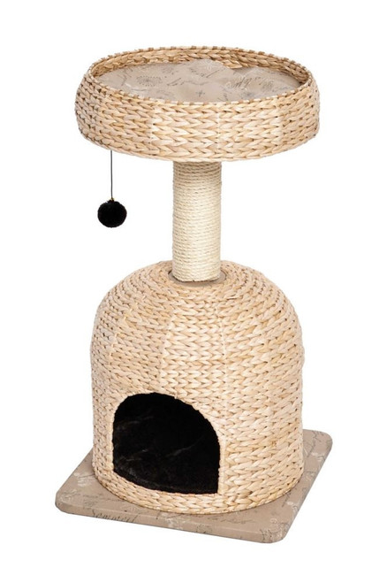 Nuvo Scout Cat Tree 31in Tan Black