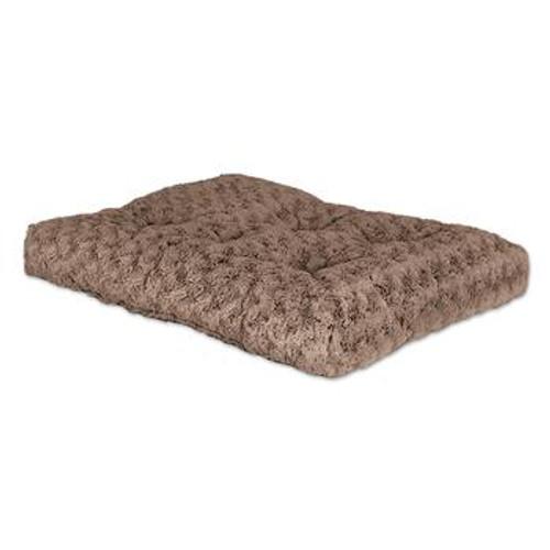 MW Mocha Swirl Fur Pet Bed 36in 40636STB