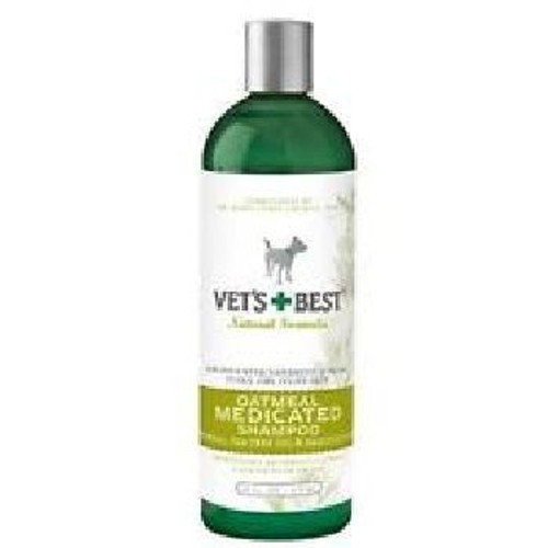 BR Vets Best Shampoo Oatmeal Medicated 16oz