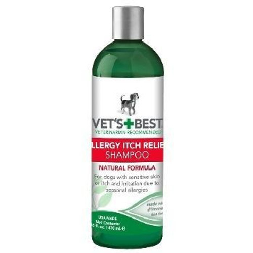 Vets Best Shampoo Allergy Itch 16oz