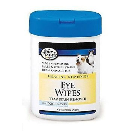Four Paws Eye Wipes Dog Cat 25ct