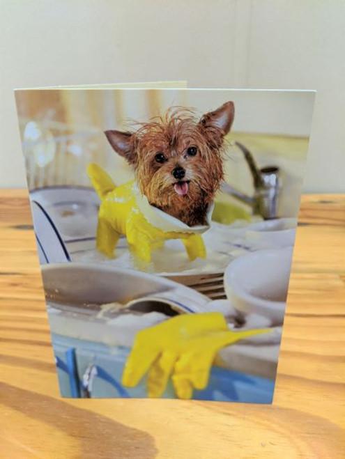 Avanti Card Mom Day Rubber Glove