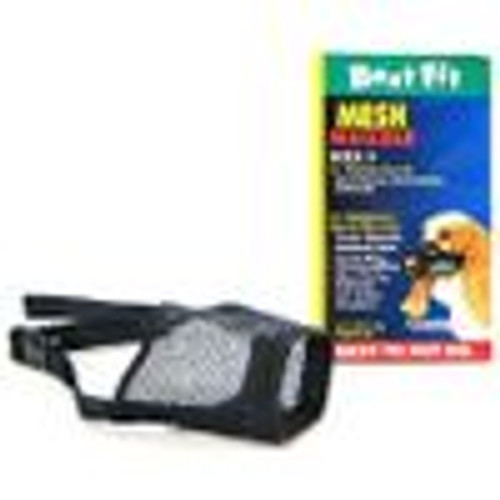 CO MUZZLE BEST FIT MESH SIZE