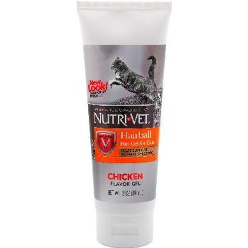 NutriVet Hairball Paw Gel Chicken 3oz