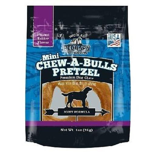Red Barn Chew a Bull Mini PB Pretzel