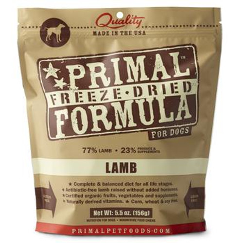 Primal Dog FD Lamb