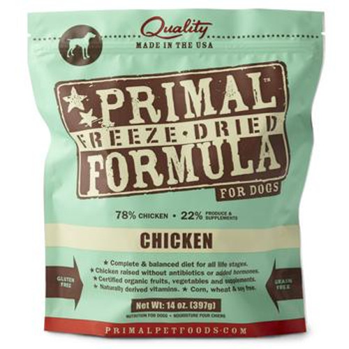 Primal Dog FD Chicken 14oz