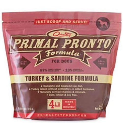 Primal Pronto Turkey Sardine 4lb