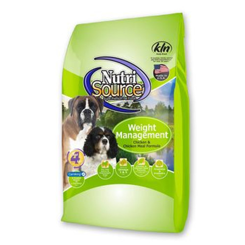 NutriSource Dog Adult Chick Rice Wt Mgmt