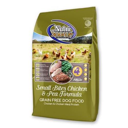 Nutrisource Dog GF Sm Breed Chicken Pea