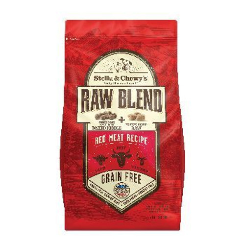 Stella and Chewy Raw Blend Red Meat 3lb